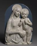 Madonna and Child (circa 1490), by Andrea della Robbia