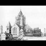 Trinity Church, Boston, HH Richardson's grand masterpiece of 1877.