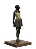 Edgar Degas's iconic sculpture Petite danseuse de quartorze ans (estimate: $25-35 million) leads Christie's Nov.  1 Evening Sale in New York.