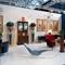 Mallett's booth at the 2014 San Francisco Fall Antiques Show.  Brodie Neill's Glacier Chair at center.