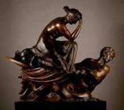 Tomasso Brothers will unveil a major bronze at Frieze Masters.  William Theed the Elder (1764-1817) Thetis returns from Vulcan with the armour of Achilles Bronze, cast, chaste and patinated, on an integral rectangular plinth Height: 128 cm; width: 120 c