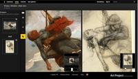 Google Art Project adds a Compare button to help examine artwork in-depth.