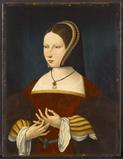 "Unknown Netherlandish Master.  ""Portrait of a Lady,"" about 1525, oil on panel.  Samuel H.  Kress Collection, 1961."