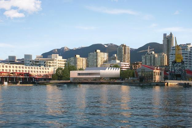 The new Polygon Gallery is set to open in 2017 on Vancouver's waterfront.