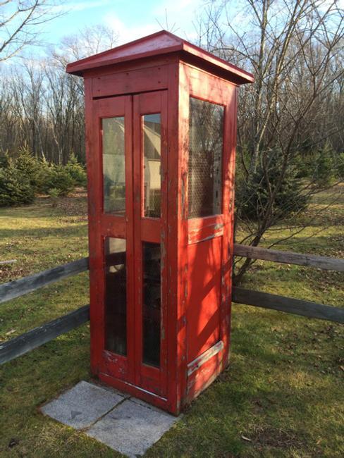 Four vintage phone booths will be sold, in addition to gas station collectibles, vintage cars and motorcycles, coca-cola, Harley-Davidson and much more, Jan.  25th.
