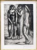 This dry point etching by Pablo Picasso, signed in pencil by the artist, is expected to sell for $20,000-$30,000.