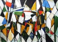 Arthur Pinajian, Untitled #4687, Woodstock, Twin Mountain, 1960, 29 x 40, oil on canvas