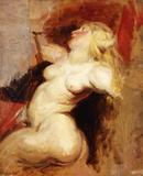 Delacroix, Nereid, Copy after Rubens
