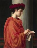 """Barine"" is a recent rediscovery in the oeuvre of the great Sir Edward John Poynter"