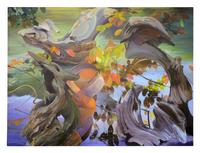 "Richard Lytle, ""Quartet,"" 2004, Oil on canvas, 72"" x 96"""