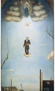 Douanier Rousseau Ascending to Glory and Reaching Posterity, 1926