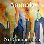 6th Annual Animals Online Art Competition