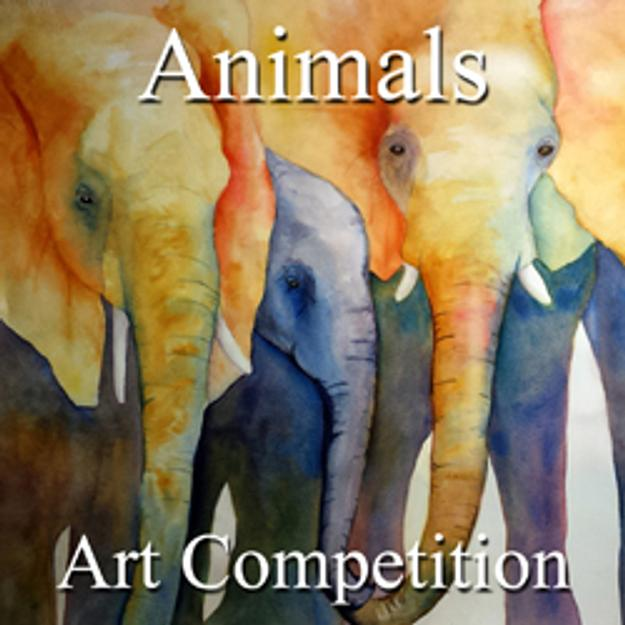 "6th Annual ""Animals"" Online Art Competition"