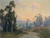 Marion Kavanaugh Wachtel, Eucalyptus Trees, n.d.  Watercolor.
