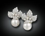 The peerless, glowing luster of these white South Sea pearls makes them both rare and desirable