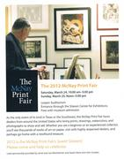McNay Museum Fair Brochure for March, 2012