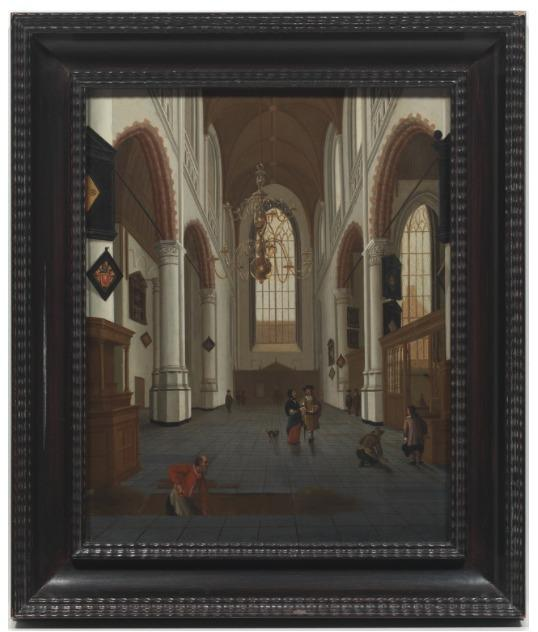 Lot 6.  Hendrick Cornelisz van der Vliet (Dutch, 1611-1675) $30,000/50,000