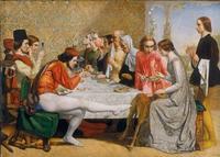John Everett Millais, Isabella 1848-9.