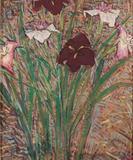 Japanese Iris (1914) by Elmer Livingston MacRae