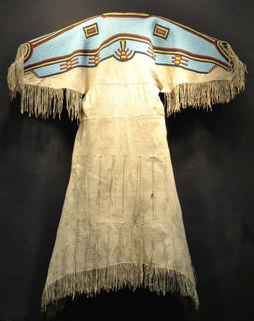 Northern Plains Dress.  Photo courtesy of Marin Show: Art of the Americas