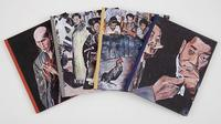 """Catalogue cover images for Bob Dylan's """"The Asia Series"""" at Gagosian Gallery."""
