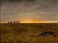 """The Wreck, c.  1880.  Oil on canvas by Lockwood de Forest, 1850–1932, 36"""" x 48"""" (2010-007)"""