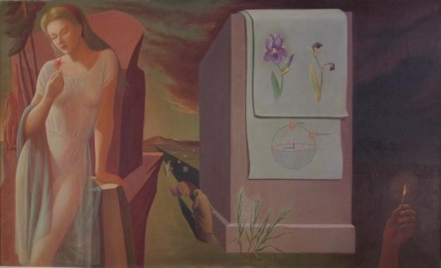 Helen Lundeberg (1908-1999), The Evanescent, 1941-1944 From the collection of Harry and Miriam Carmean ©The Feitelson/Lundeberg Art Foundation