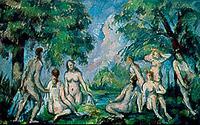 Paul Cézanne (1839-1906), The Bathers, c. 1890, oil on canvas, 28 x 44 cm, Aix-en-Provence, Musée Granet
