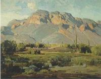 A Hanson Duvall Puthuff painting was among the $10 million worth of art recovered by police for collector Jeffrey Gundlach last Thursday.