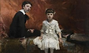 Douard and Marie-Louise Pailleron, painted by John Singer Sargent in 1881.  Photograph: National Portrait Gallery/PA