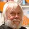 Photographic portrait of artist John Baldessari.  2004, by Analia Saban