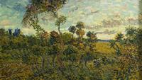 A rediscovered work by Vincent van Gogh, Sunset at Montmajour, has been authenticated.