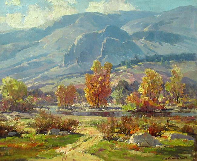 "Jack Wilkinson Smith (1873 - 1949)""Autumn Morning"""