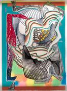 Frank Stella relief etching, part of Eldred's Fall Americana and Paintings Auction