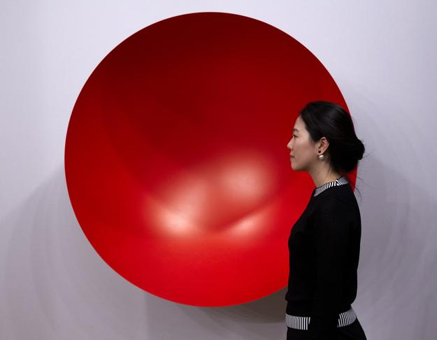 TEFAF 2016 Preview: At Kukje Gallery, a work by Anish Kapoor.