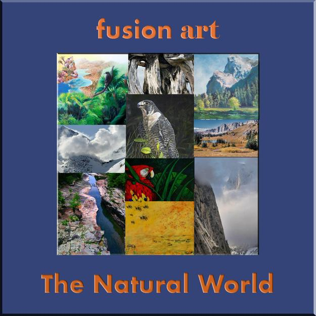 "Fusion Art Announces the Winners of the ""Natural World"" International Art Exhibition.  www.fusionartps.com"