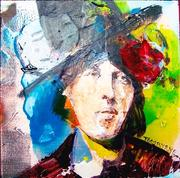 Tom Byrne.  Portrait of Oscar Wilde
