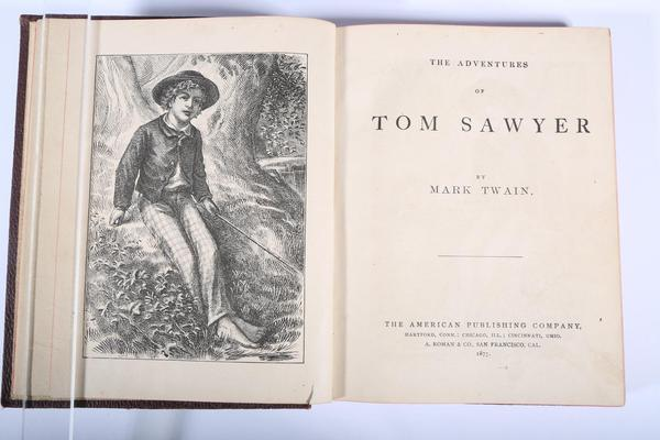 Mark Twain,The Adventures of Tom Sawyer, 1877