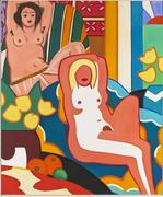 Tom Wesselmann Sunset Nude with Matisse Odalisque 2003 Oil on canvas 304.8 x 254 cm The Estate of Tom Wesselmann, New York © Estate of Tom Wesselmann / SODRAC, Montreal / VAGA, New York (2011) Photo Jeffrey Sturges