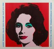 "'Liz Taylor' by Andy Warhol, lithograph on wove paper poster, 24¾"" x 28"", printed in colour 1965,"