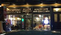 The Willow Pharmacy storefront in Hoboken.