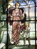 "Louis Comfort Tiffany's iconic windows were so detailed they were often referred to as ""paintings in glass"""