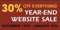 Our Year-End Website Sale Begins Today
