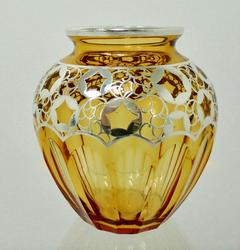 Silver overlay vase from John Newton Antiques