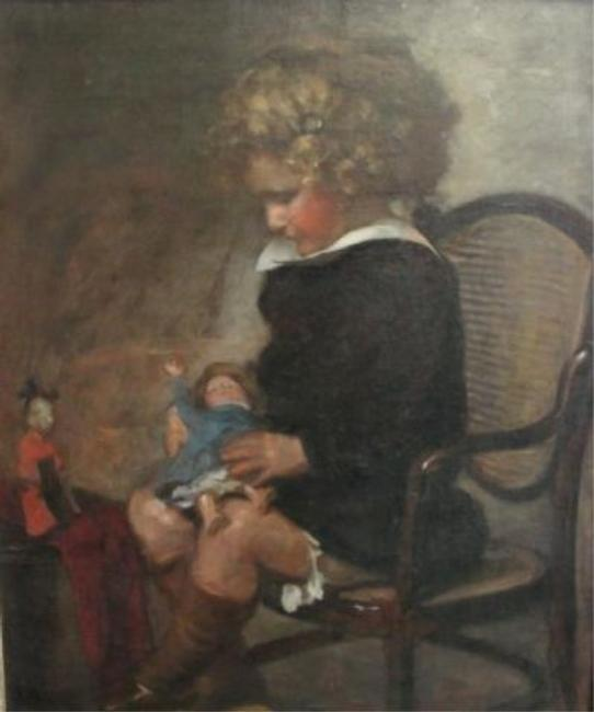 John Burr - Collection of Paintings of Children