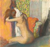 Edgar Degas, After the Bath, Woman Drying Her Neck, 1886-95, Musée d'Orsay