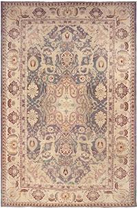 Antique Indian Agra Rug 45976, Nazmiyal Collection