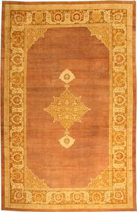 Antique Indian Amritsar Rug 1950, Nazmiyal Collection