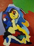 Karel Appel Flowering Personnage