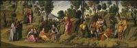 """This """"Saint John the Baptist"""" painting may be a Michelangelo at the Metropolitan Museum of Art."""